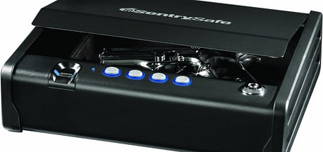 Sentry Safe Biometric Quick Access Pistol Safe Review