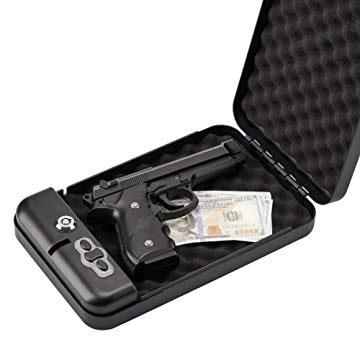 RPNB Gun Safe, Smart Pistol Safe Handgun Security Safe