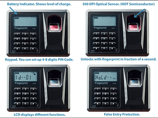 Viking Security Safe VS-35BLX Biometric Safe Fingerprint Safe 1