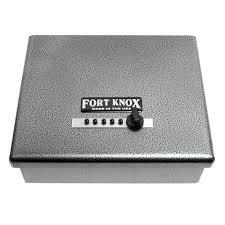 Fort Knox PB1 Handgun Safe with 13.5 Inch Dean Safe Pistol Sock