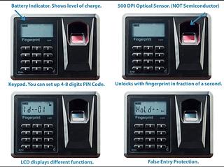 Viking Security Safe VS-35BLX Biometric Safe Fingerprint Safe 1