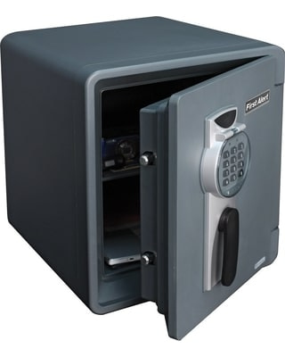 First Alert 2096DF Waterproof Fire Safe with Digital Lock
