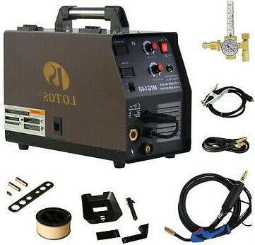 Lotos MIG140 Flux-Core Welder